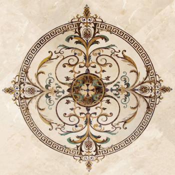 Bespoke floor medallion - Monarchy clearance
