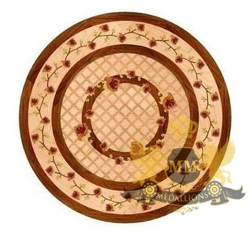 12 Wooden Medallion