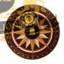13 Wooden Medallion